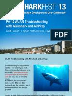 Wireshark and AirPcap Rolf Leutert