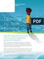FAO - Leaving No One Behing - Blue Growth