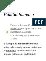 Hábitat Humano