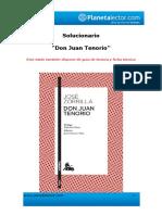 Guía Don Juan Tenorio