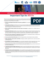 Avoiding Unstable Approaches Important Tips for Atco