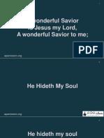 A wonderful Savior.pptx
