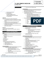 HPM 1.1 Prehistoric & Primitive Medicine
