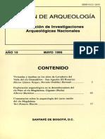 Boletín de Arqueología