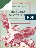 Ginzburg, Carlo. - Historia Nocturna [1991].pdf