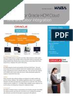 B-COMM for Oracle HCM Cloud