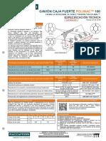 ESP PERU 006 Gavión Caja Fuerte PoliMac 100 SP