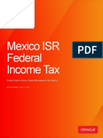 Mexico ISR Federal Income Tax