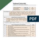DSA outline