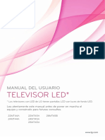 MANUAL TV LG 24 ESP