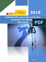 Agua Consumo 2018