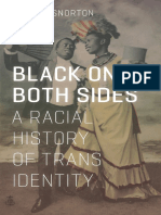C. Riley Snorton - Black on Both Sides_ a Racial History of Trans Identity-University of Minnesota Press (2017)