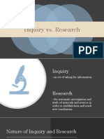 Lesson 0 - Inquiry vs Research