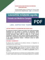 LEUCEMIA MONOCITICA AGUDA TRATADA COIN MEDICINA COMPLEMENTARIA