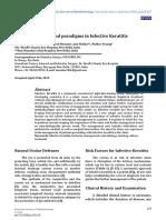 Perlas y Paradigmas en Queratitis Infecciosa