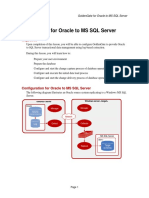 Goldengate oracle to sql server