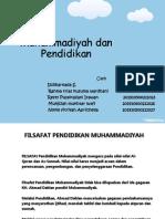 Muhammadiyah dan Pendidikan.ppt