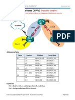 9.2.2.9 Lab - Configuring Multi-area OSPFv2.pdf