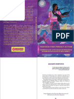 Travesías Para Pensar y Actuar Experiencias Autocuidado Mujeres Defensoras DH Mesoamérica IMDEFENSORAS 2014