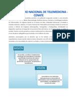 Servicios Del Centro Nacional de Telemedicina CENATE