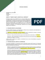 Formato Estudio Previo Contrato Prestacion de Servicios Profesionales y de Apoyo a La Gestion (1)