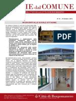 Notizie Dal Comune di Borgomanero del 19-10-2019