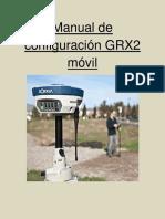 Manual de Configuracion GRX2 Movil