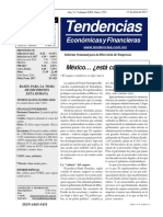Tendencias Económicas y Financieras 1523