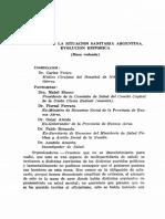 FERRARA Análisis de La Situación Sanitaria Argentina. Evolución Histórica. (Mesa Redonda)