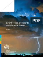 Catalogue Hazards Extreme Events WMO 091117