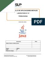 Lab 07 - Desarrollo de Aplicaciones Móviles - Colecciones-2019-2 valdivia.docx