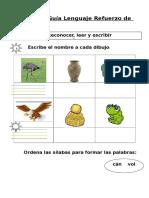 Guía Lenguaje repaso G V Ñ J.doc