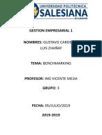 GESTION EMPRESARIAL Resumen Beachmarking1