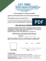 Certificadodomiciliario Peru