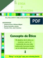 Etica y Administracion
