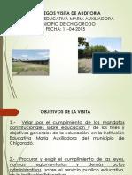 Auditoria Maria Auxiliadora