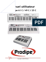 Manual Prodipe 61 C 49 C 25 C FRENCH 1