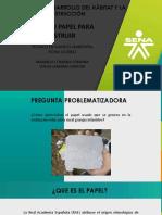 Recicla Tu Papel Pra Construir Formato Sena