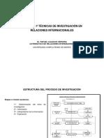 Calduch. Métodos y técnicas de investigación en Relaciones internacionales