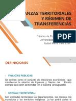 Diapositivas Finanzas Territoriales y Regimen de Transferencias.pptx