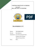 TRANSMISIÓN CVT