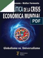 geopolitica de la crisis economica mundial