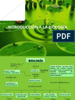 INTRODUCCION BIOLOGIA