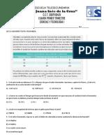 ciencias (2°)examen
