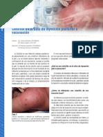 celulitis post inmunizacion