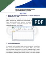 2 - Taller 01 Excel