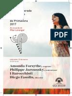 Amanda Forsythe, Soprano - Philippe Jaroussky, Contratenor - i Barocchisti 15-3-2017