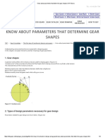 Know About Parameters That Determine Gear Shapes _ KHK Gears