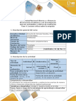 PSICOLOGIA FASE 4 Guía de Actividades y Rúbrica de Evaluación - Fase 4 - Lectura Crítica Sobre La Empatía-1