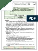 PG13-SIG - Modelo Plan de Emergencia